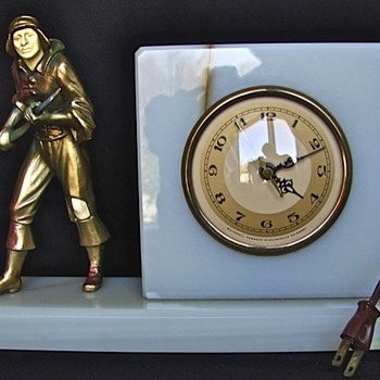 Whitehall - Hammond Clocks with J. B. Hirsch Figures, 1928 - 31  Part 1 - Art Deco