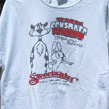 Crusader Rabbit at the Sweetwater, 6/10/01 - Mens Clothing