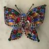 Huge butterfly brooch