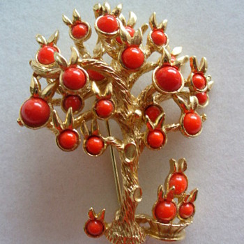 Orange tree? - Costume Jewelry