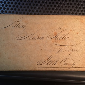 Pennslyvania 1800's Land DEED  - Paper