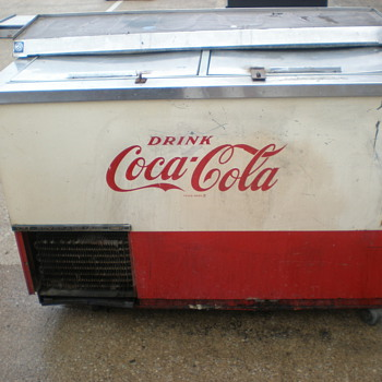Vintage Coca-Cola  Beverage Air Co  - Coca-Cola