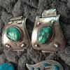 Green turquoise native American jewelry