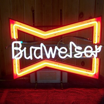What year was this Style Bud Sign Made? - Breweriana