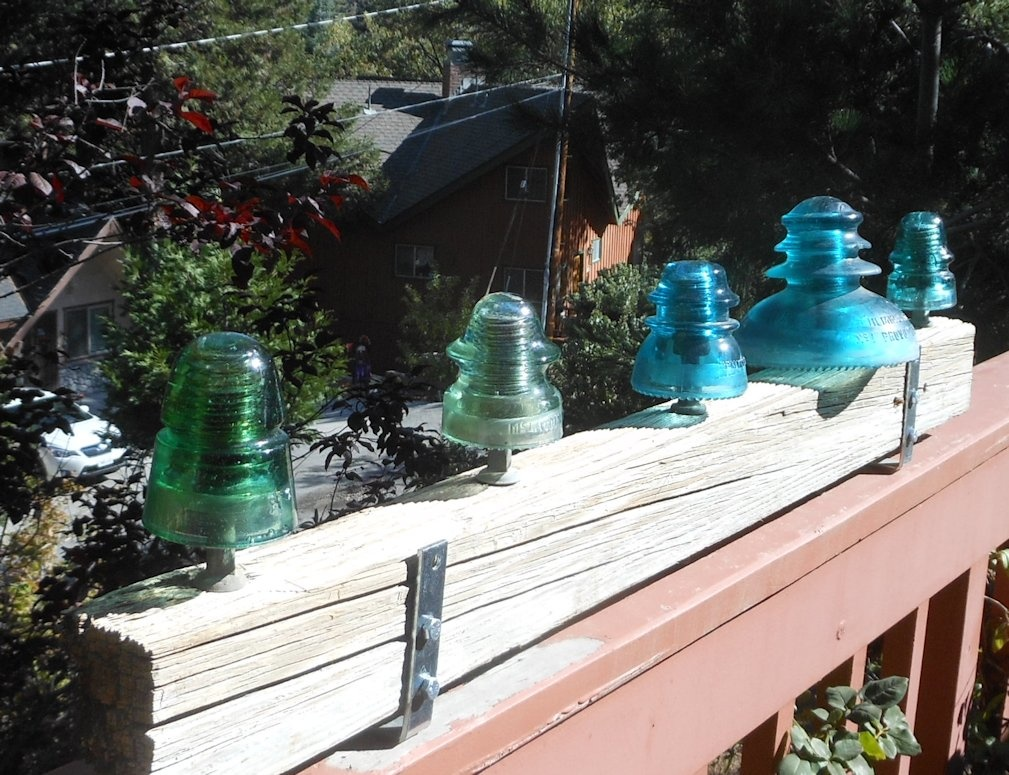 most valuable glass insulators