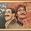 Republic of Abkhazia Marx & Lennon Stamp