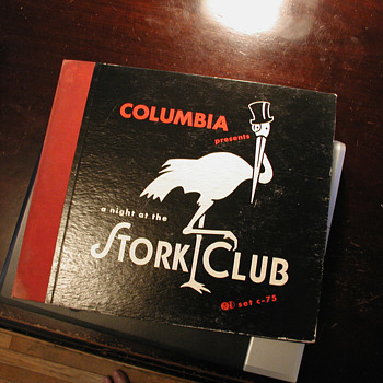 Columbia Presents: A Night At The Stork Club - Records
