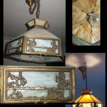 Victorian Era hanging lamp - What is it?