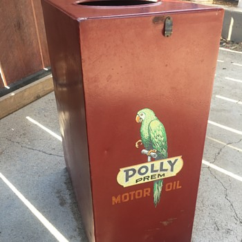 Polly premium motor oil - Petroliana