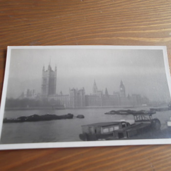 Vintage Parliment Photo Buildings Photo On Velox - Photographs
