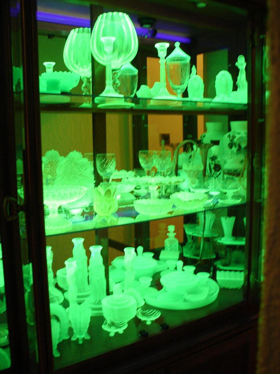 My Vaseline Uranium Glass Collection Collectors Weekly