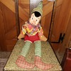 Vintage Elf Doll With Plastic Face Plus Find the Hidden Cat