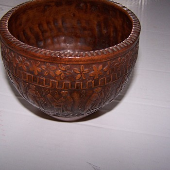 Hand made bowl in Greece - Pottery