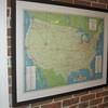Texaco Airline Map 1956