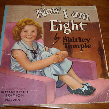A post for Manikin or any other Shirly Temple Fans. - Books