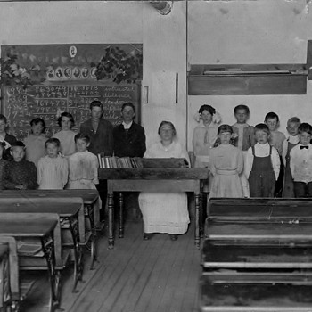 My Grandmothers School 1920's  - Photographs