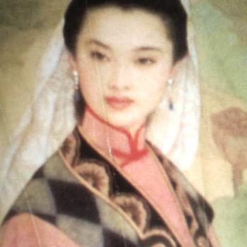 Oriental  Paper Fan - Accessories