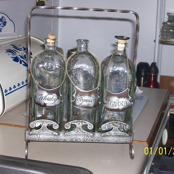 Rare set of decanters - Bottles