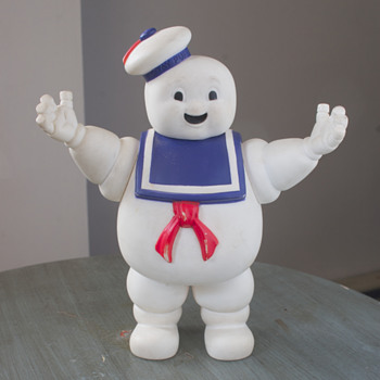 Stay-Puft Marshmallow Man Figurine…..