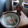Table lamp and matching dish