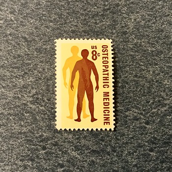8¢ Osteopathic Medicine Stamp - Stamps