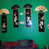 More Asian Art.My bedroom wall