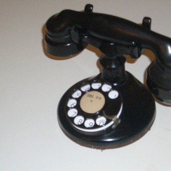 Western Electric A1 telephone  with 2AB dial
