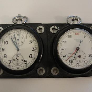 Gallet Pocket Watches Set in Case