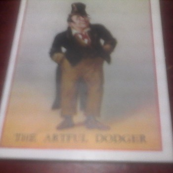 """Copes Cigarette Cards """" Charles Dickens"""""""