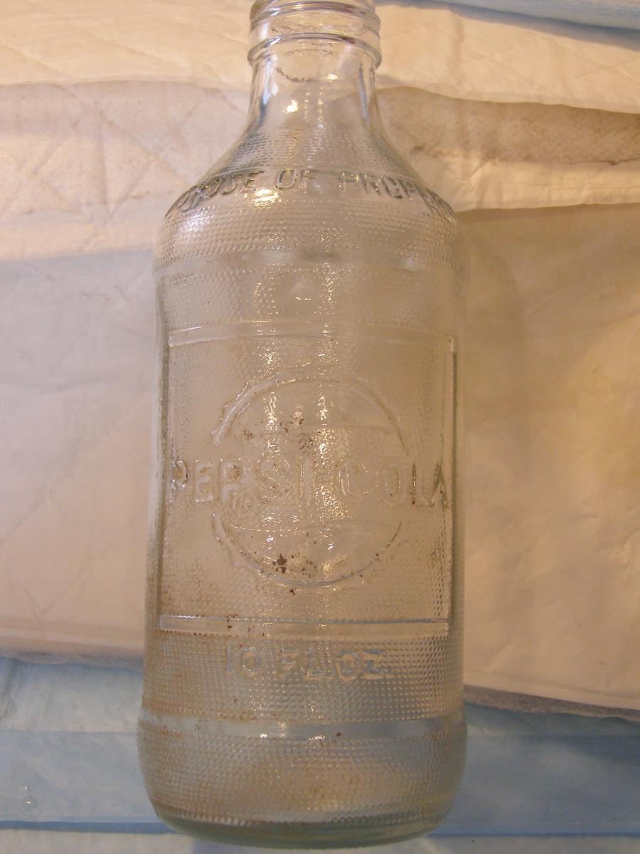 Old Pepsi Glass Bottles 25