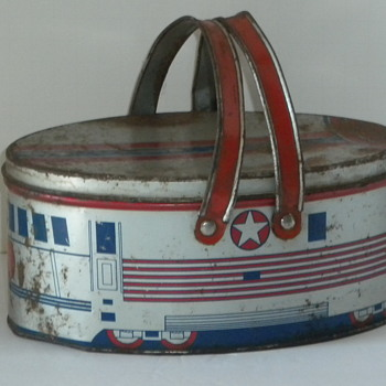 Old Train Lunch Bucket - Kitchen