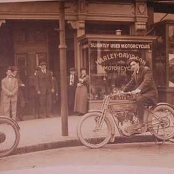 Where is this Harley Davidson Dealer - Postcards