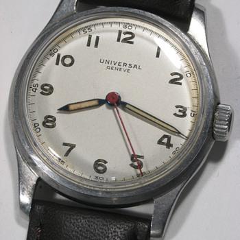 Universal Geneve Men's Wrist Watch, Sweep Second Hand