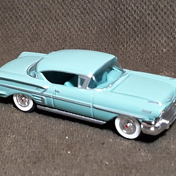 Racing Champions 1958 Chevy Bel Air Impala Yes There Was Such a Thing 1/64 - Model Cars