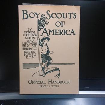 1910 Boy Scout Official  Handbook 1982 Reprint - Sporting Goods