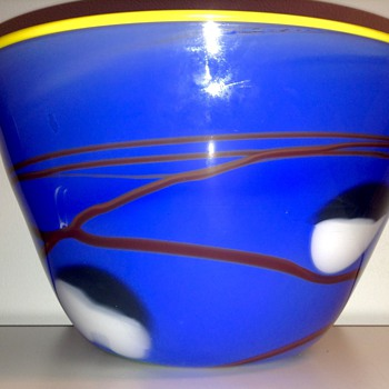 Glass Art Bowl by Steve Nechodom - Art Glass