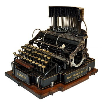 NORTH´S Typewriter Circa 1882 - Office