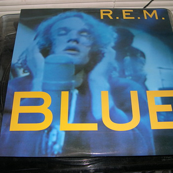 SUPER RARE ALBUM REM BLUE FAN CLUB ISSUE LIVE SEATTLE MUSIC HALL SPLIFFOOI - Records