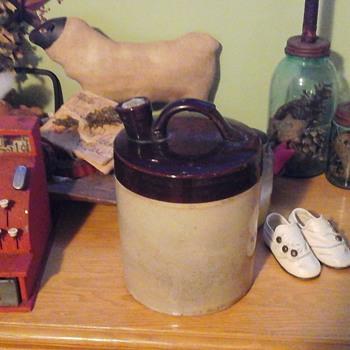 unusual jug need information  - Pottery