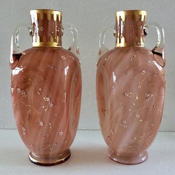 LOETZ  GLASS VASES - Hallmarmo (1888-1889) - Art Glass