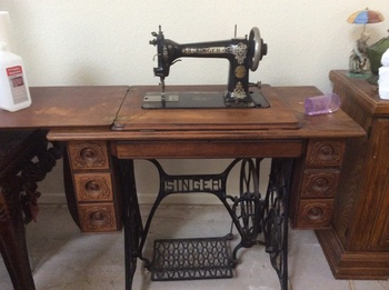 Old Singer Sewing Machine Collectors Weekly