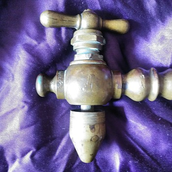 Antique Brass Spigot (follow up) - Tools and Hardware
