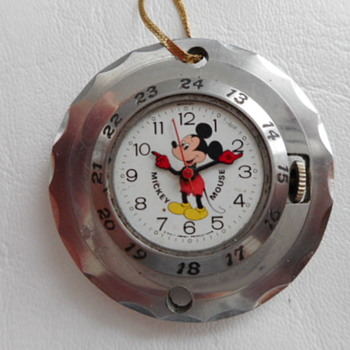 Mickey Mouse Pendant Watch - Pocket Watches