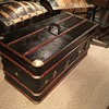 Early 1900's German antique wardrobe trunk