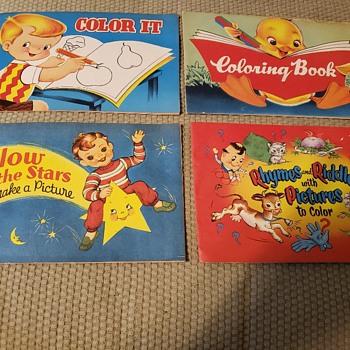 Vintage coloring books! - Books