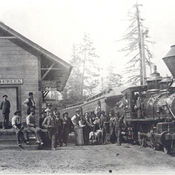 postcards of trains - Postcards