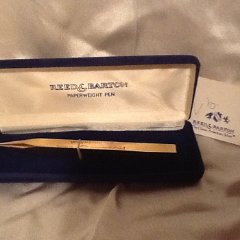 Reed & Barton Gold Paperweight Pen