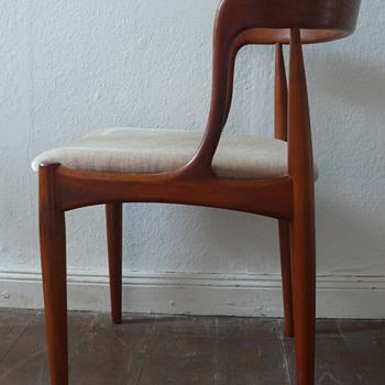 Johannes Andersen teak chairs