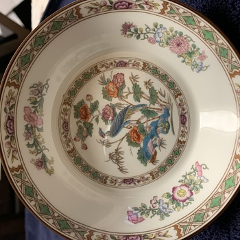 Wedgewood Bone China Kutani Crane - China and Dinnerware