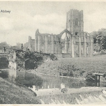 VIEWS OF FOUNTAINS ABBEY & RIVER SKELL
